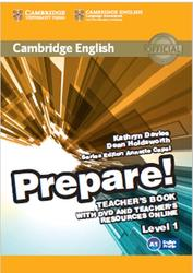 Prepare, Teachers Book, Levbel 1, Davies K., Holdsworth D., 2015