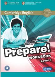 Prepare, Workbook, Level 3, Holcombe G., 2015
