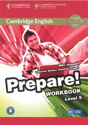 Prepare, Workbook, Level 5, Joseph N., 2015