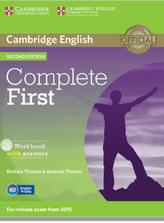 Complete first, workbook, with answers, second edition, Thomas B., Thomas A., 2014