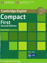 Cambridge English, Compact first, second edition, teacher's book, May P., 2014